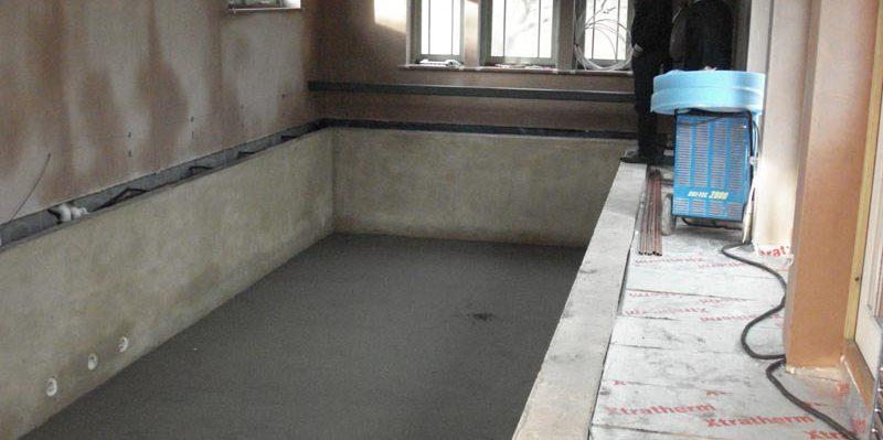 Tiled Pool Construction Ambassador Pools