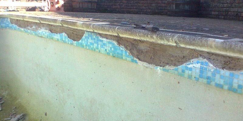 Tile Band Replacement Ambassador Pools