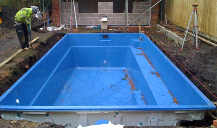 One Piece Pool Construction Ambassador Pools