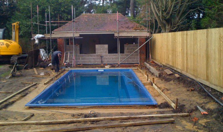One Piece Pool Construction Ambassador Pools